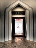 Portone del tempio fotografie stock