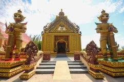 Portone del tempio del custode di Giants Fotografie Stock