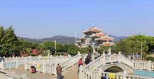 Portone del tempio del gong di 'chi' Fotografie Stock Libere da Diritti
