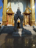 portone del tempio di buddar Fotografia Stock