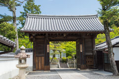 Portone del tempio di Kiyomizudera Fotografia Stock