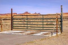 Portone del Texas in Arizona Immagini Stock