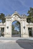 Portone dell'entrata del palazzo di Festetics Keszthely, Ungheria Fotografia Stock Libera da Diritti