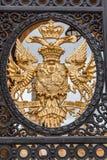 Portone dell'entrata dell'Inghilterra del palazzo di Blenheim Fotografie Stock Libere da Diritti