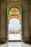 Portone dell'entrata di Jaswant Thada, Jodhpur, India Fotografia Stock Libera da Diritti