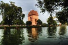 Portone dell'India Delhi fotografia stock libera da diritti