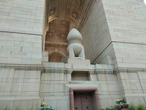 Portone dell'India a Delhi fotografie stock libere da diritti