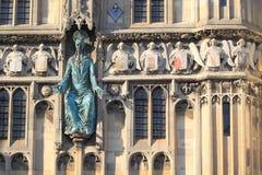 Portone della cattedrale di Canterbury Immagine Stock