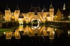 Portone della città di Amersfoort - Koppelpoort Immagine Stock