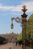 Portone della città di Nancy, Francia immagine stock