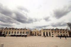 Portone della città in Francia Immagine Stock