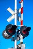 Portone della ferrovia Fotografia Stock