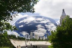 Portone della nuvola (il fagiolo) Immagine Stock