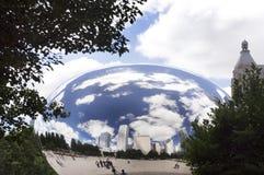 Portone della nuvola (il fagiolo) fotografia stock libera da diritti