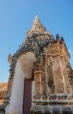 Portone della pagoda di Lumpangloung Fotografia Stock