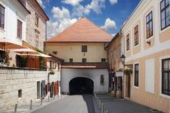 Portone della pietra di Zagabria fotografia stock libera da diritti