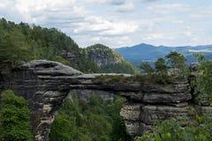 Portone della roccia Fotografia Stock Libera da Diritti