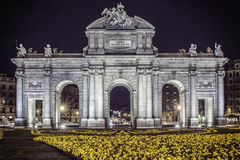 Portone di Alcala del ¡ di Puerta de Alcalà Fotografia Stock