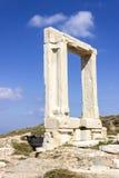 Portone di Apollon Temple Fotografia Stock