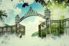 Portone di cielo royalty illustrazione gratis