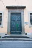 Portone di entrata del conservatorio sant' anna, pisa Stock Photo