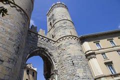Portone di Genova fotografie stock