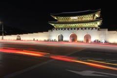 Portone di Gwanghwamun, Seoul, Corea Immagine Stock