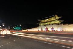 Portone di Gwanghwamun, Seoul, Corea - serie 2 Immagini Stock