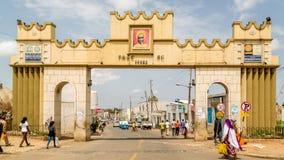 Portone di Harar Jugol Fotografie Stock Libere da Diritti