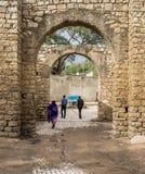 Portone di Harar Jugol, Etiopia della città Fotografia Stock