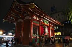 Portone di Kaminarimon Fotografie Stock