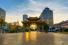 Portone di Kunming Immagine Stock Libera da Diritti