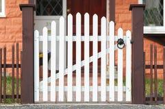 Portone di legno Fotografia Stock Libera da Diritti
