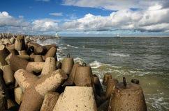Portone di mare Fotografie Stock