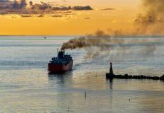 Portone di mare di Sakhalin Fotografia Stock Libera da Diritti