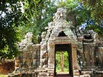 Portone di morte Angkor Wat/Cambogia Immagini Stock