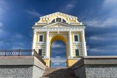 Portone di Mosca del monumento Città di Irkutsk Immagine Stock Libera da Diritti