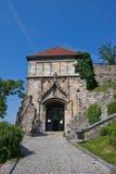 Portone di Sigismund (XV C.) del castello di Bratislava Fotografia Stock Libera da Diritti