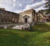 Portone di Sun, Palestrina, Italia Immagine Stock Libera da Diritti