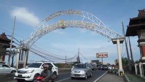 Portone di uscita della città di Pekalongan archivi video