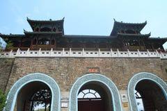 Portone di Xuanwu, Nanchino, Cina Immagini Stock