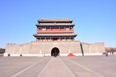 Portone di Yongding Pechino immagine stock