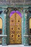 Portone dorato della chiesa di Dormition - nuova Gerusalemme del ` s dello zar Immagini Stock