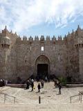 Portone Gerusalemme di Damasco Fotografia Stock Libera da Diritti