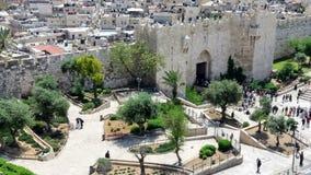 Portone Gerusalemme di Damasco Immagine Stock Libera da Diritti