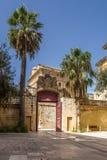 Portone a Mdina, Malta Fotografia Stock Libera da Diritti