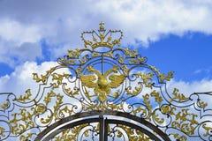 Portone Openwork Catherine Palace fotografie stock libere da diritti