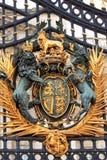 Portone principale del Buckingham Palace, Londra immagine stock libera da diritti