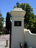 Portoni alla Camera di governo, ATTO di Canberra, Australia Immagine Stock Libera da Diritti