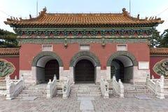 Portoni alla tomba di ZhaoLing immagine stock